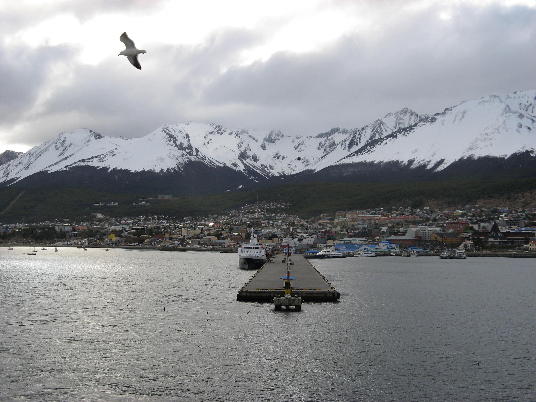 ushuaia cruise ship dock